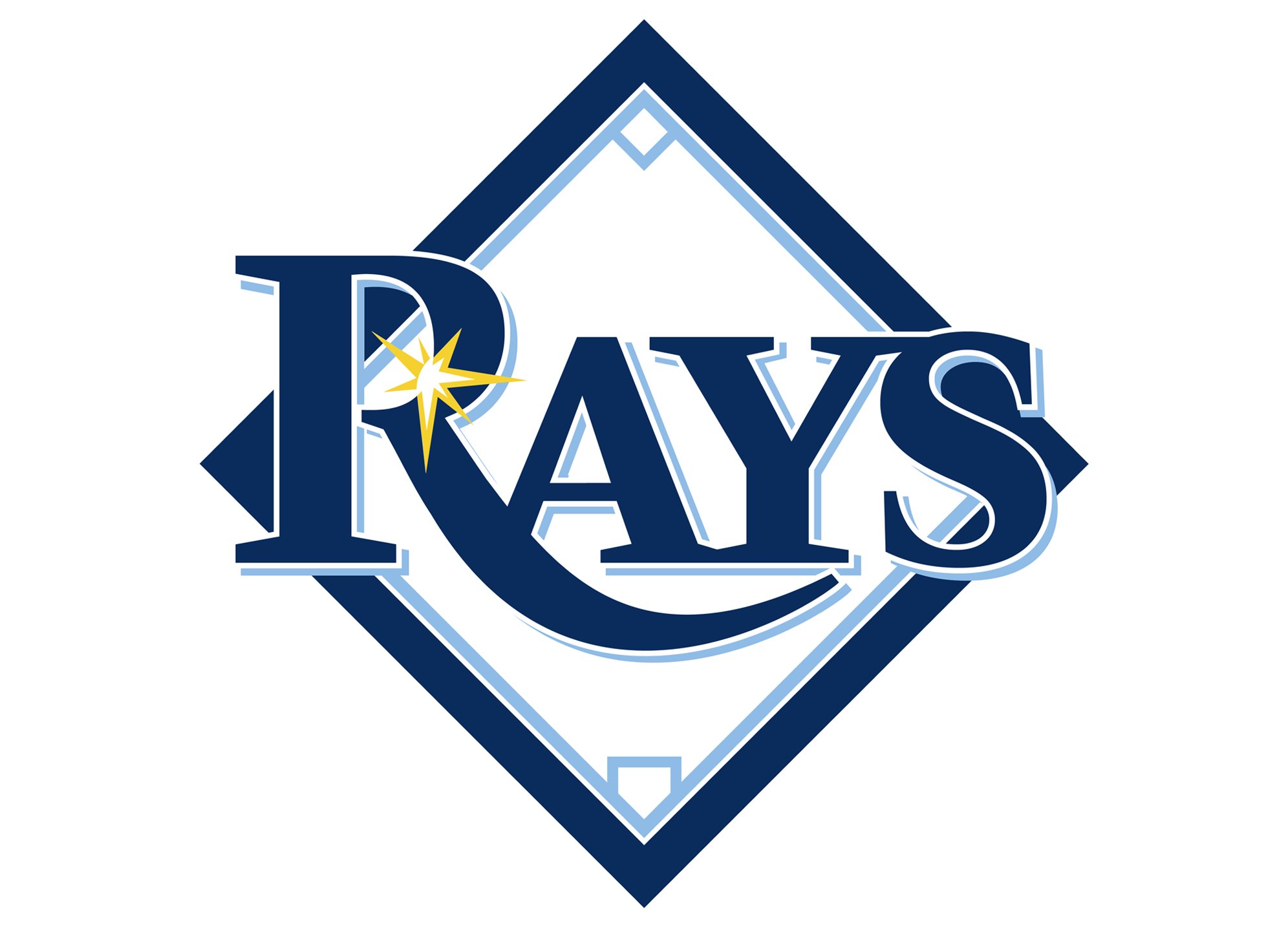 Tampa Bay Rays - Free Sports Logo Vector Downloads